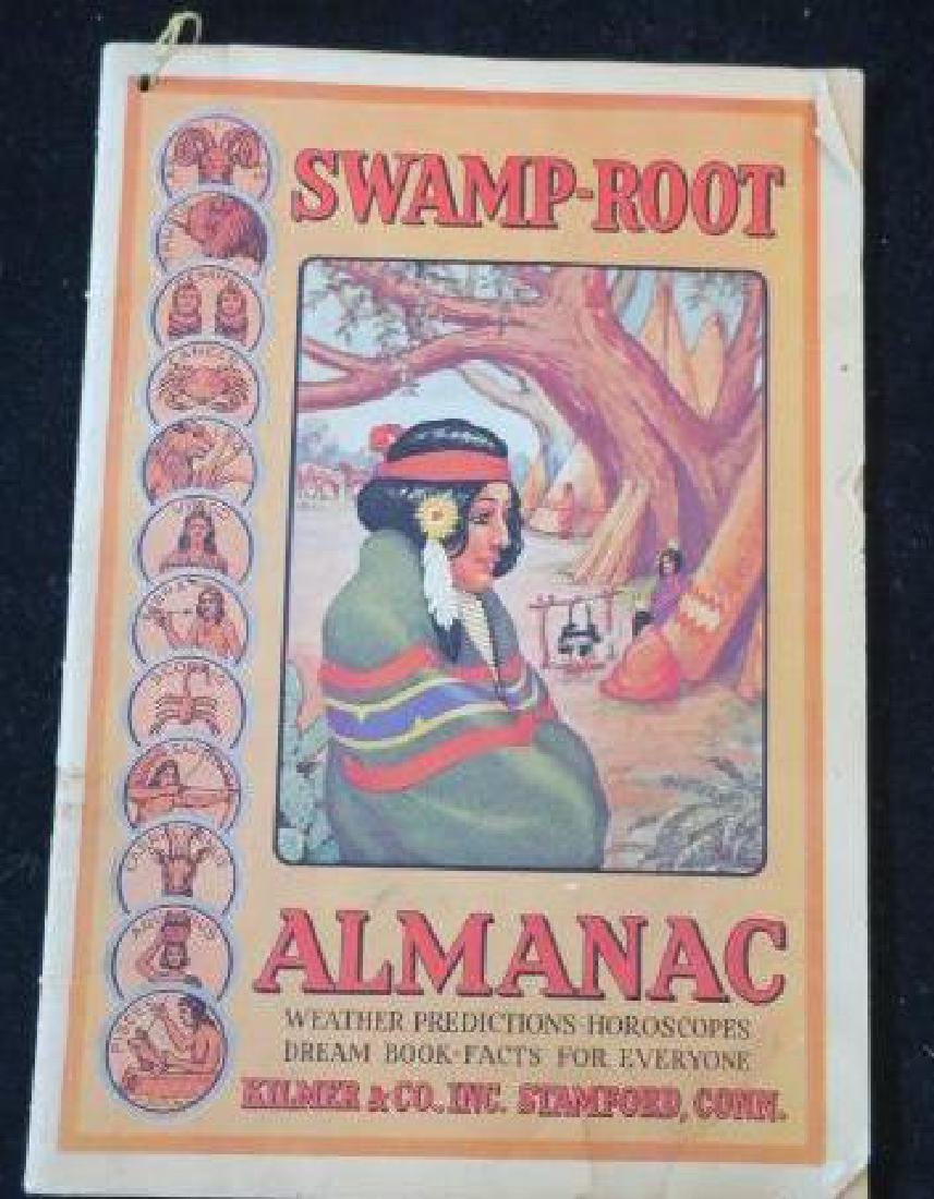 1943 SWAMP-ROOT ALMANAC; Weather, Horoscopes, Dreams: