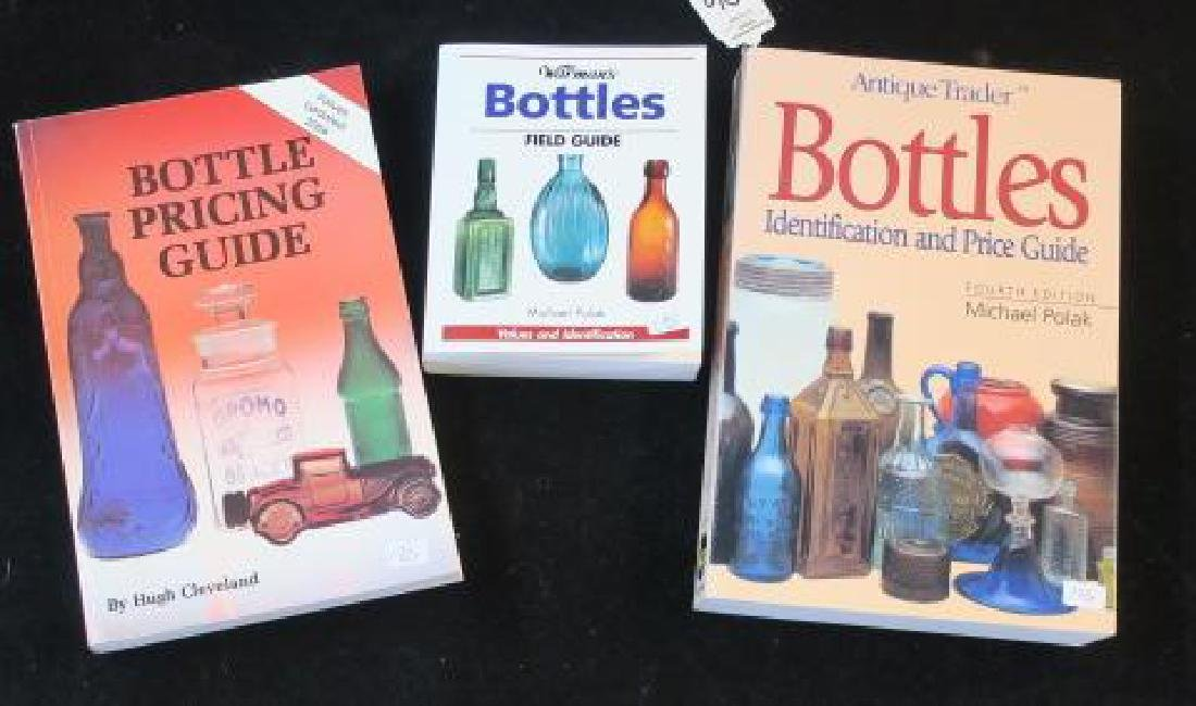 Five Pharmacy and Bottle Collector Books - 2