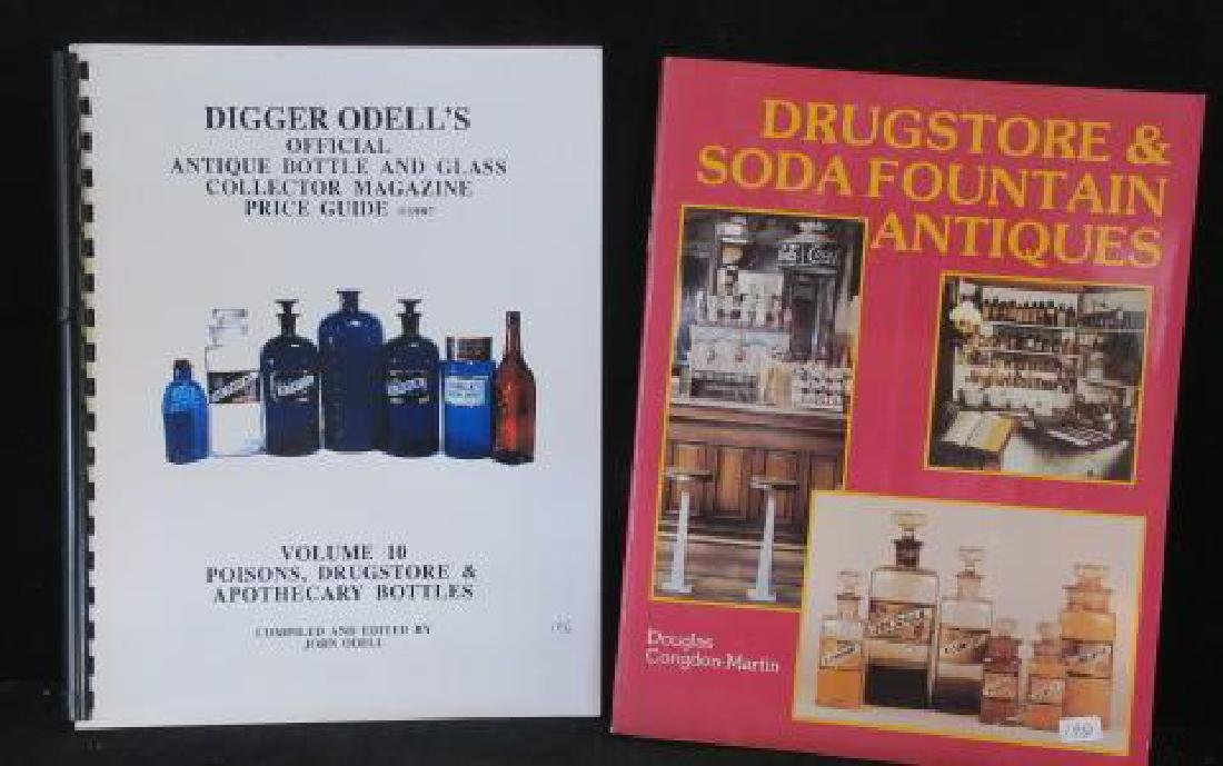 Five Pharmacy and Bottle Collector Books - 3