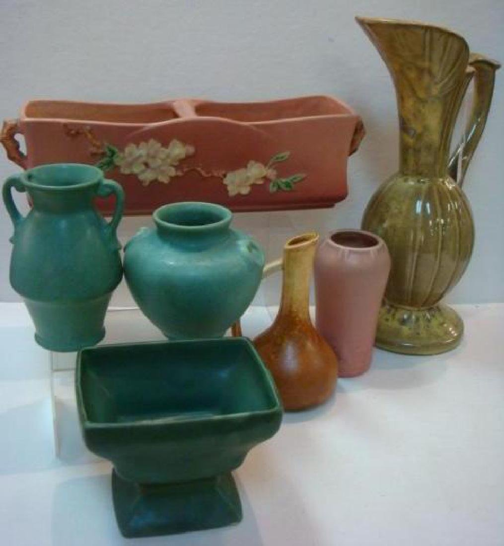 Seven Pieces of Assorted Vintage Pottery: