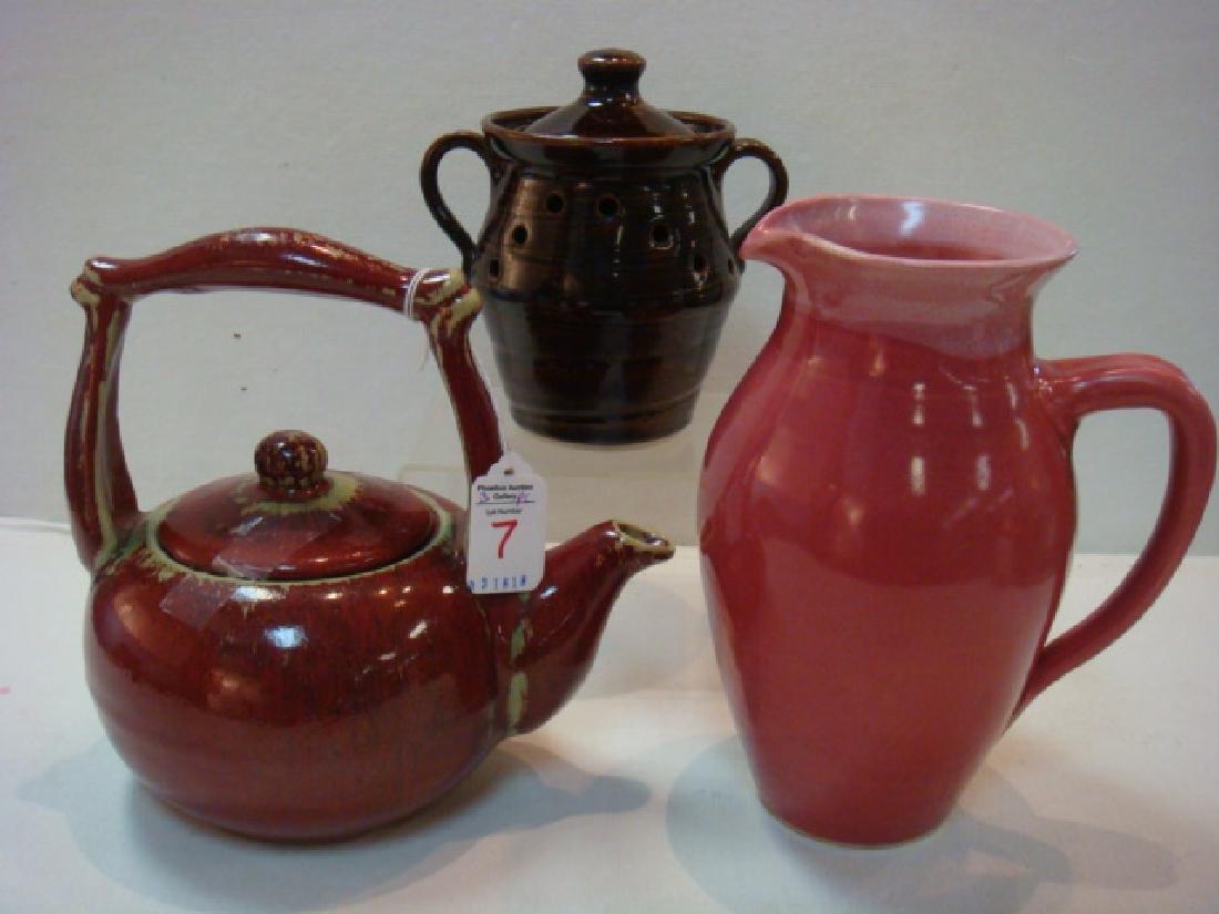 Three Pieces of North Carolina Pottery: