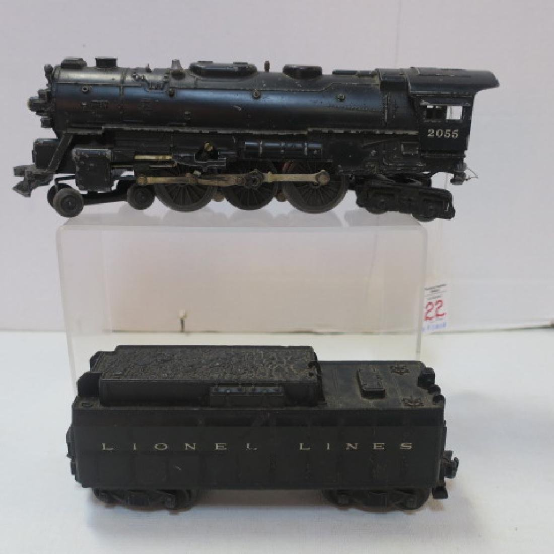 LIONEL TRAINS 2055 Hudson Style Engine and Tender