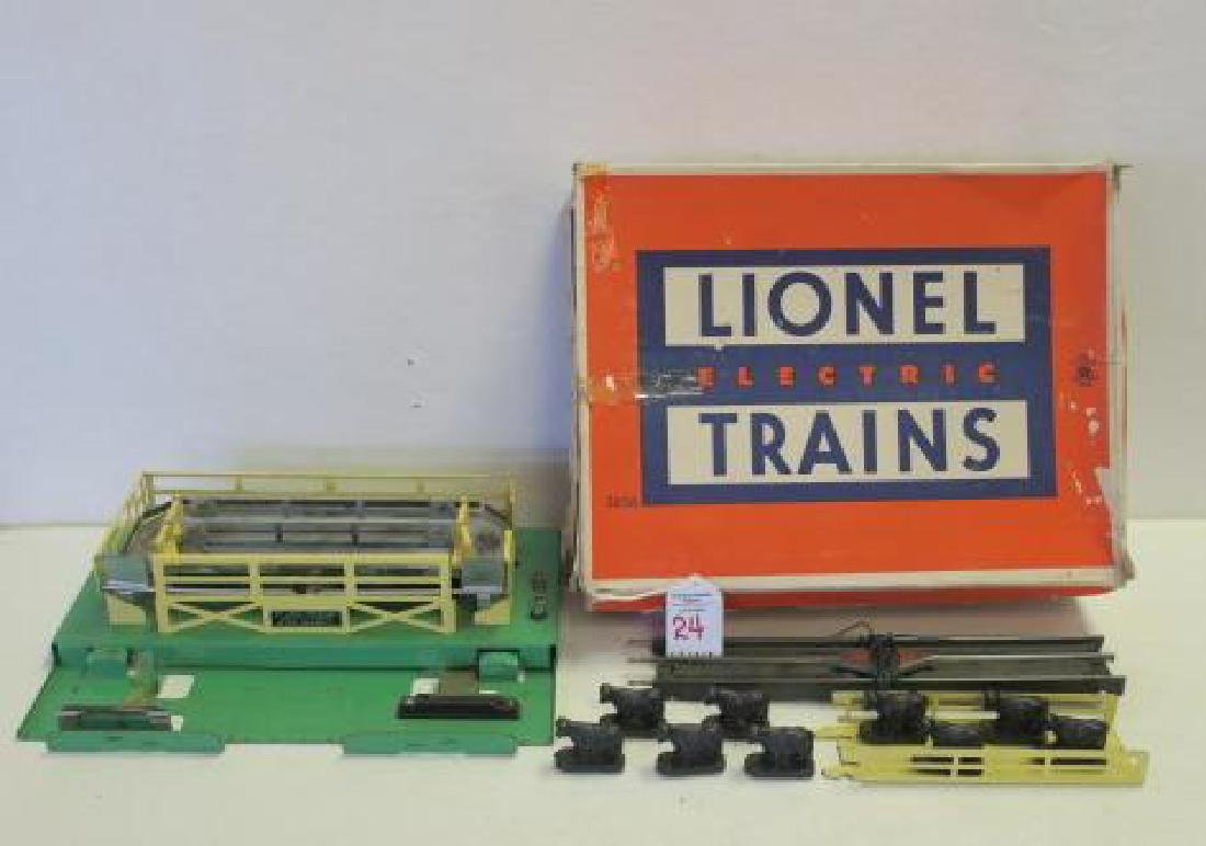LIONEL TRAINS 3656 OPERATING CATTLE CAR: