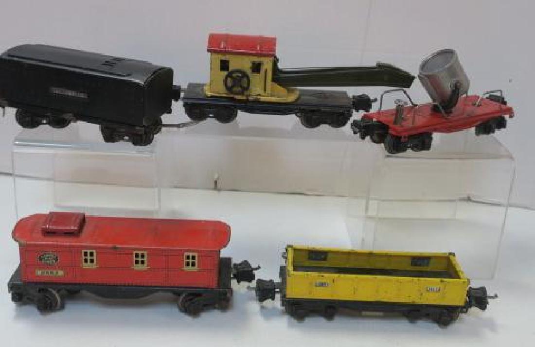 Five Rare PRE-WAR LIONEL TRAINS Tender and Cars: