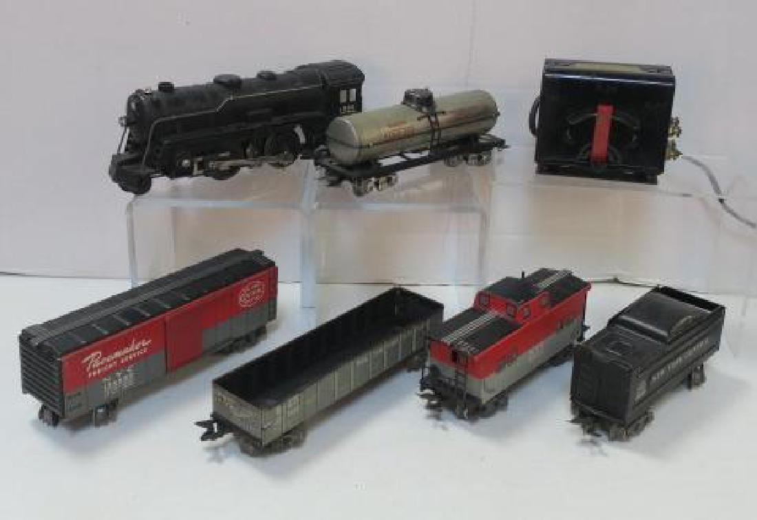 CA 1940, MARX MARLINES O Gauge Tin Plate Train Set: