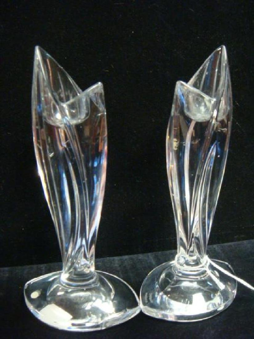 Pair of Marquis by Waterford Candlesticks: