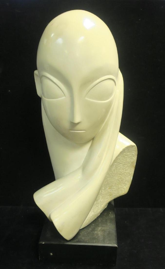 AUSTIN Inc. Production Stylized Female Bust: