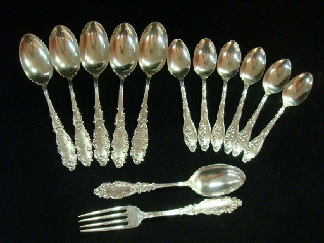 Sterling Silver Spoons and Fork: