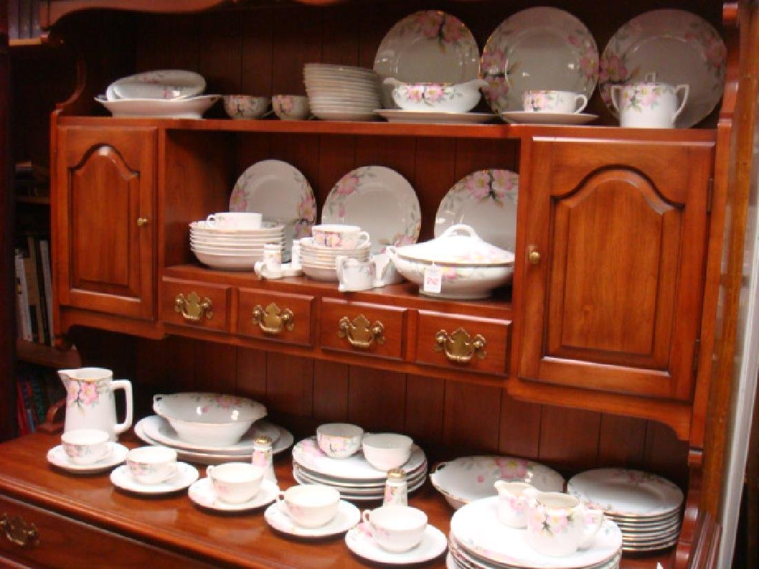 Collection of NORITAKE Azalea China with Gold Trim: