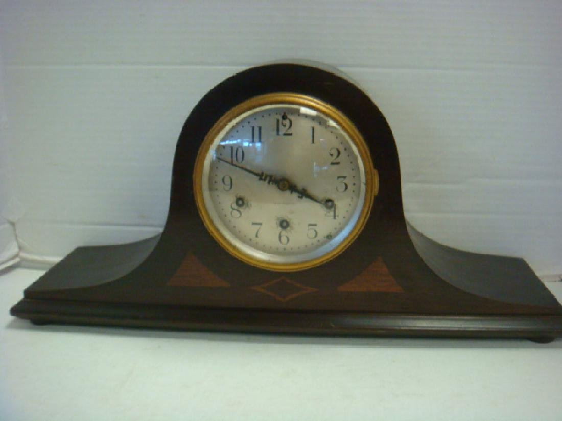 SETH THOMAS Mantle Clock with Inlay: