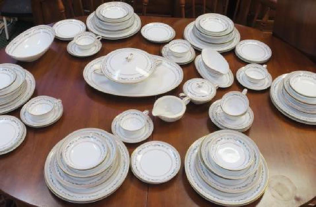 NORITAKI Pattern 5695 Dinnerware Service for 12: