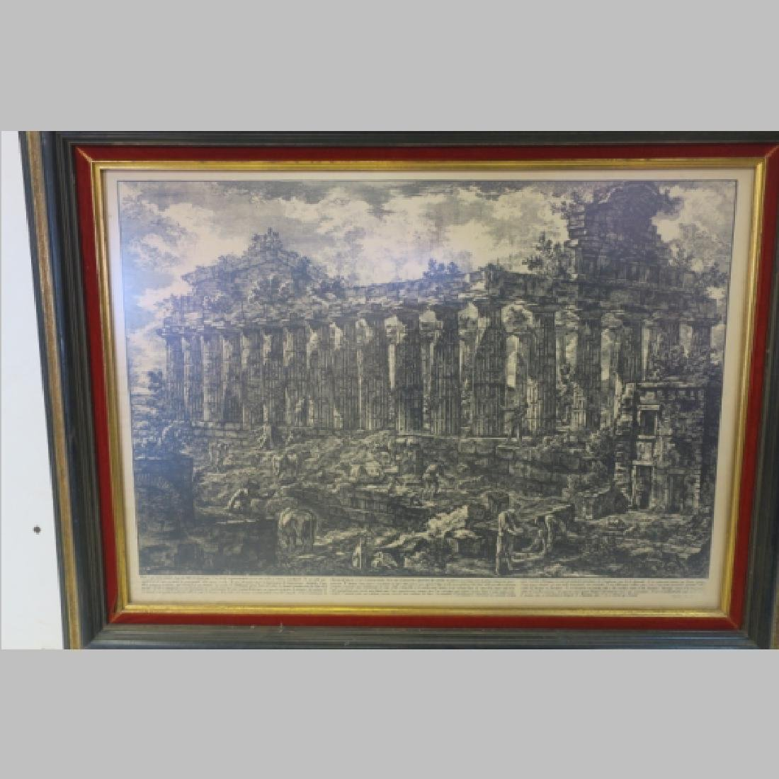 Neoclassic View of Temple by PIRANESI: - 2