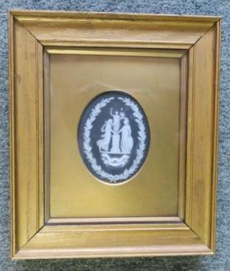 Framed Wedgwood Commemorative Plaque: