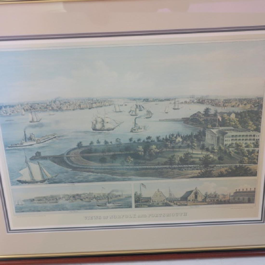 F. SACHSE Views of Portsmouth & Norfolk: