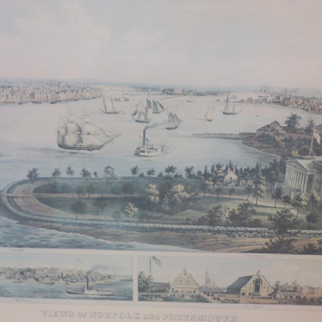 F. SACHSE Views of Portsmouth & Norfolk: - 4