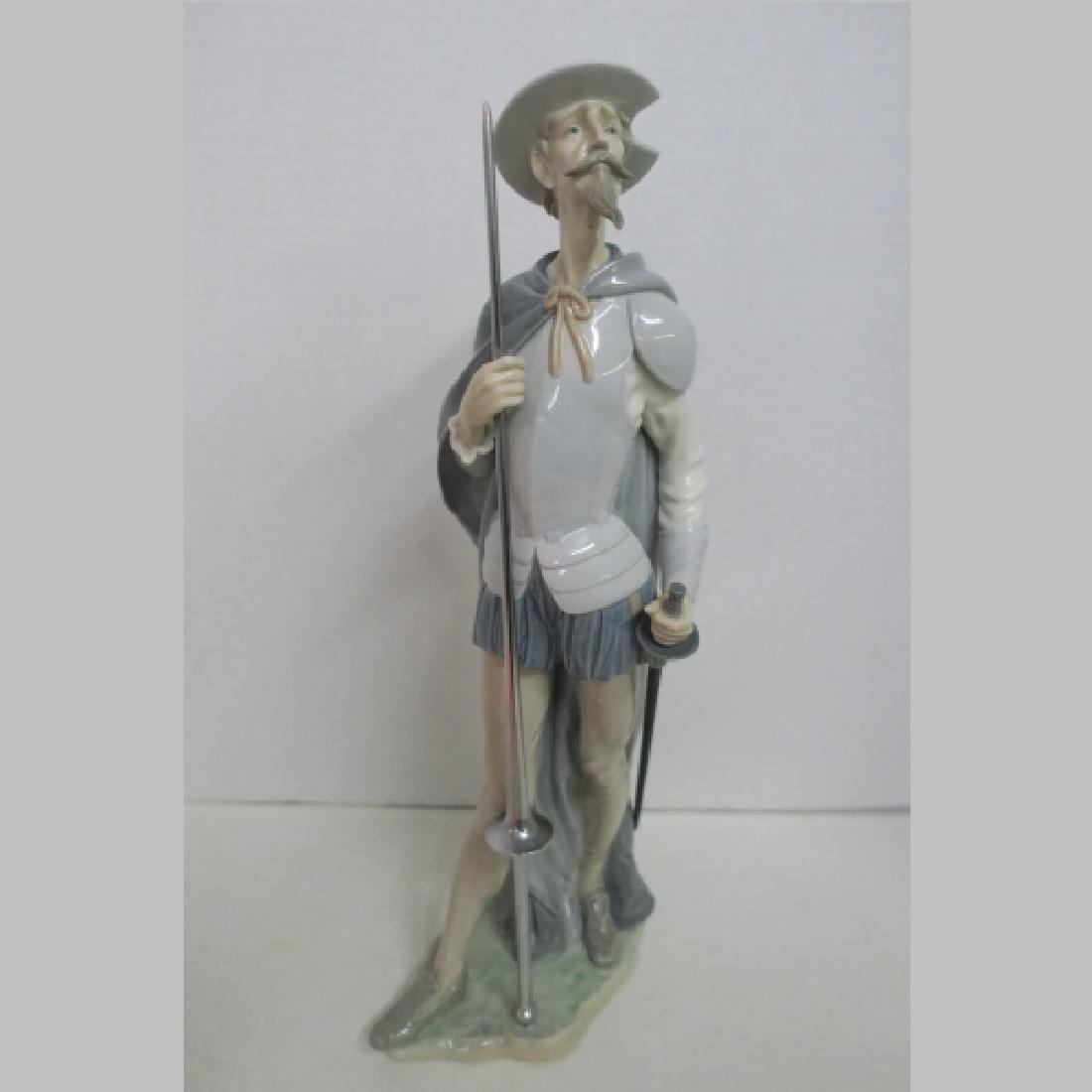 Lladro Don Quixote on Guard #1385:
