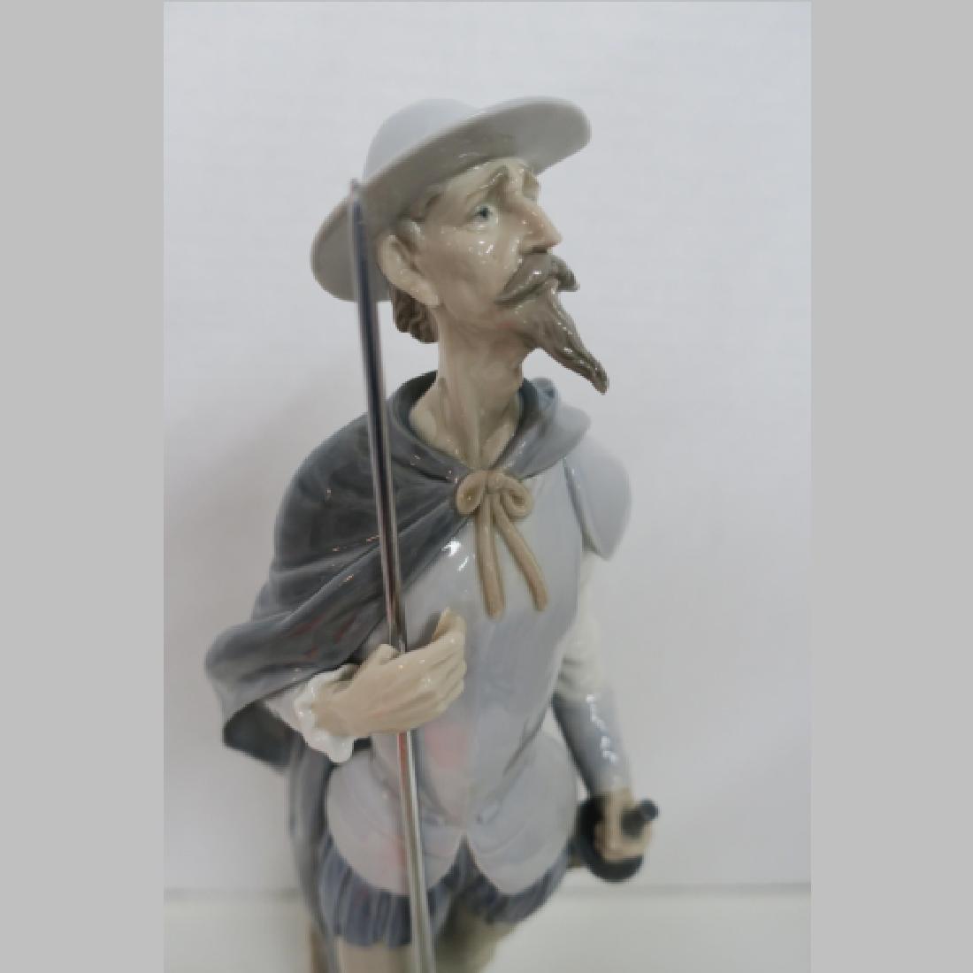 Lladro Don Quixote on Guard #1385: - 2