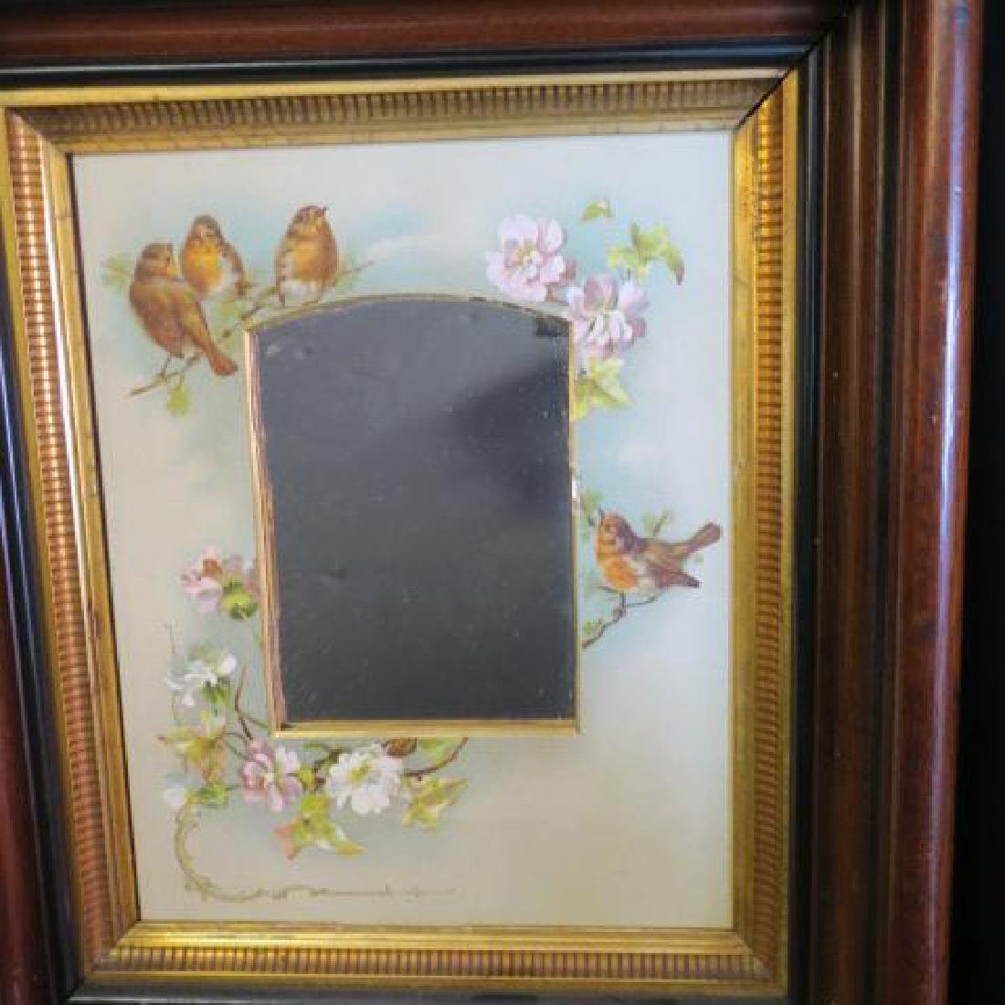 2 Victorian Aesthetic Movement Walnut Shadowbox - 4