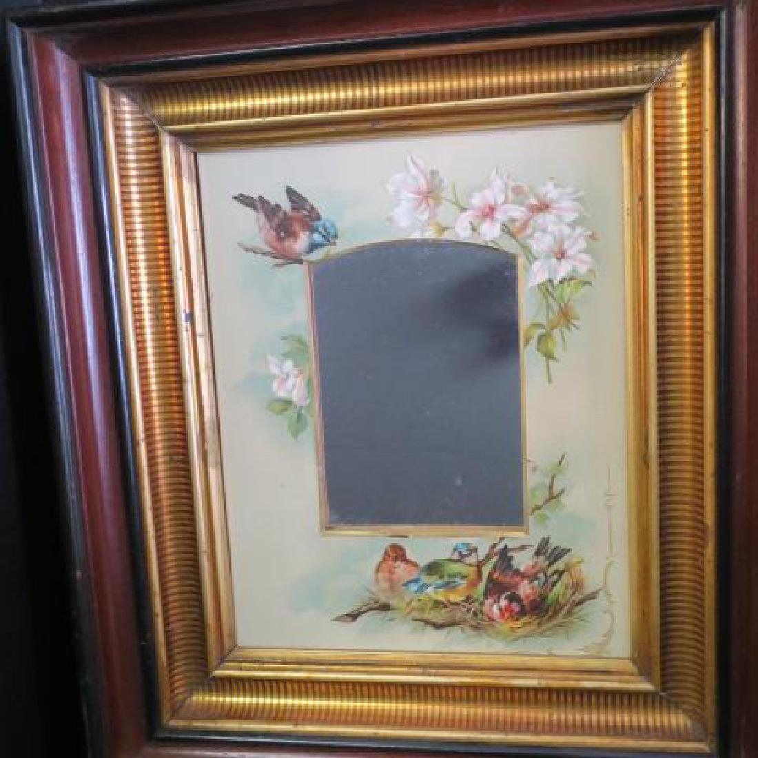 2 Victorian Aesthetic Movement Walnut Shadowbox - 5