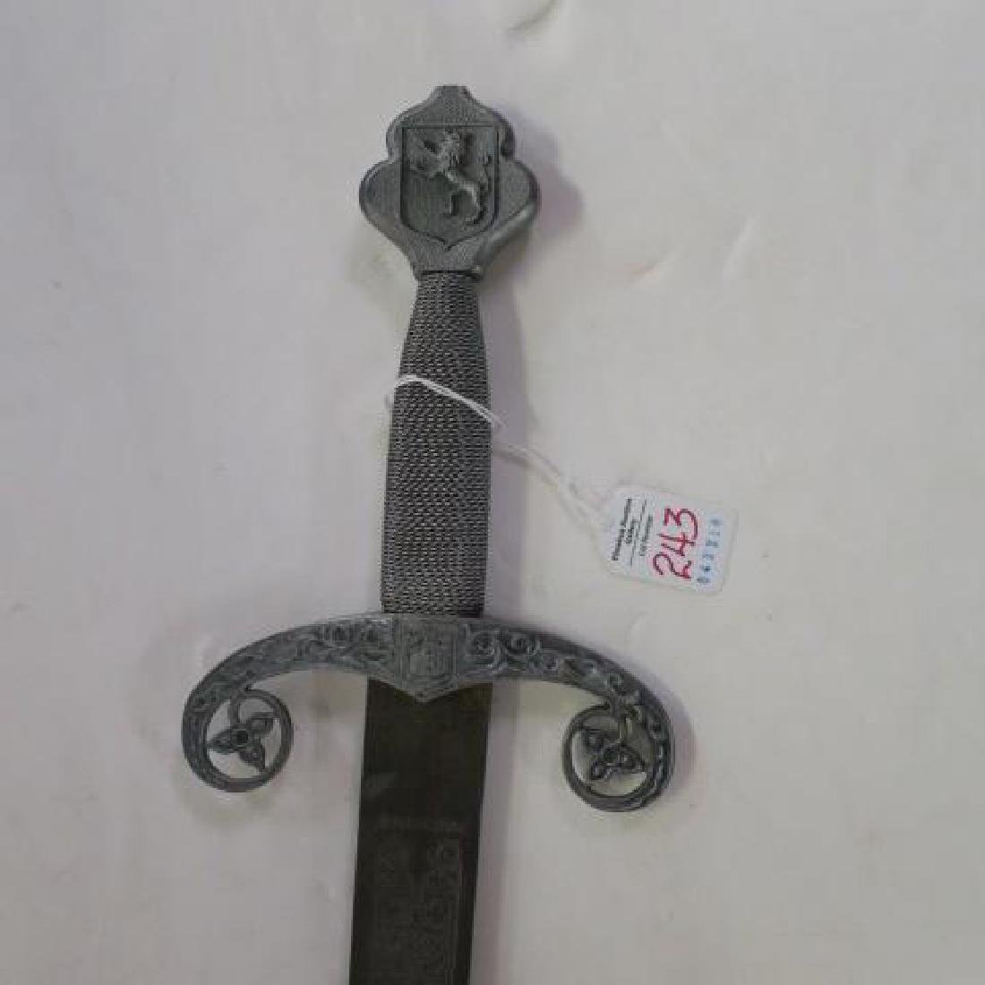 "The ""Sword of Castilla"" made in Toledo Spain: - 2"