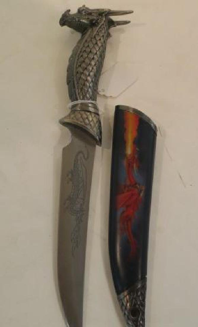 Red, Black and Blue Dragon Daggers: - 2