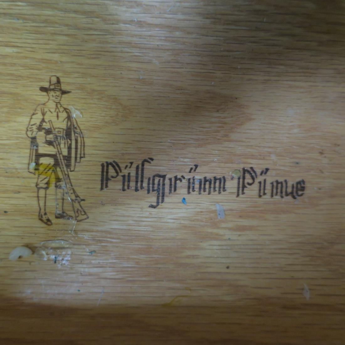 PILGRIM PINE Knotty Pine Hunt Board: - 3