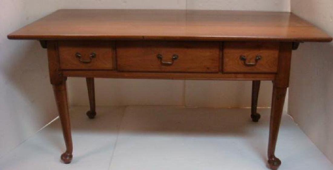 Home Office Three Drawer Writing Desk: