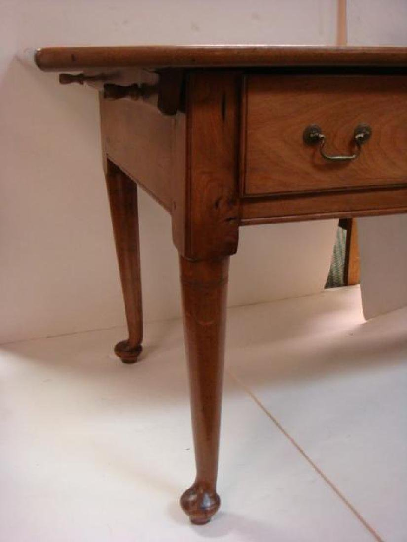 Home Office Three Drawer Writing Desk: - 4