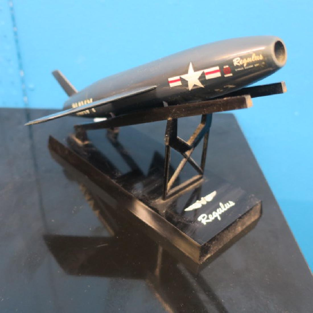 RARE Manufacturers Models of REGULUS Missile on Stand: - 3
