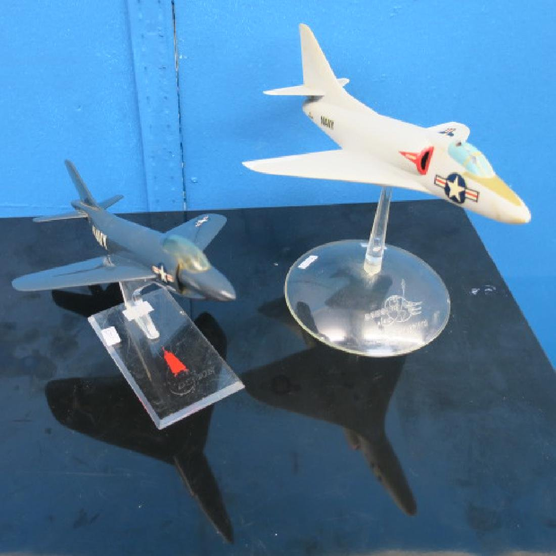 Manufacturers Models of F3H DEAMON & A4D SKYHAWK: