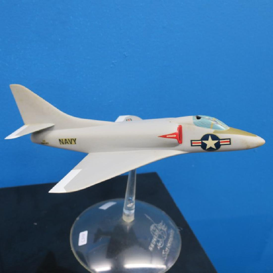 Manufacturers Models of F3H DEAMON & A4D SKYHAWK: - 2