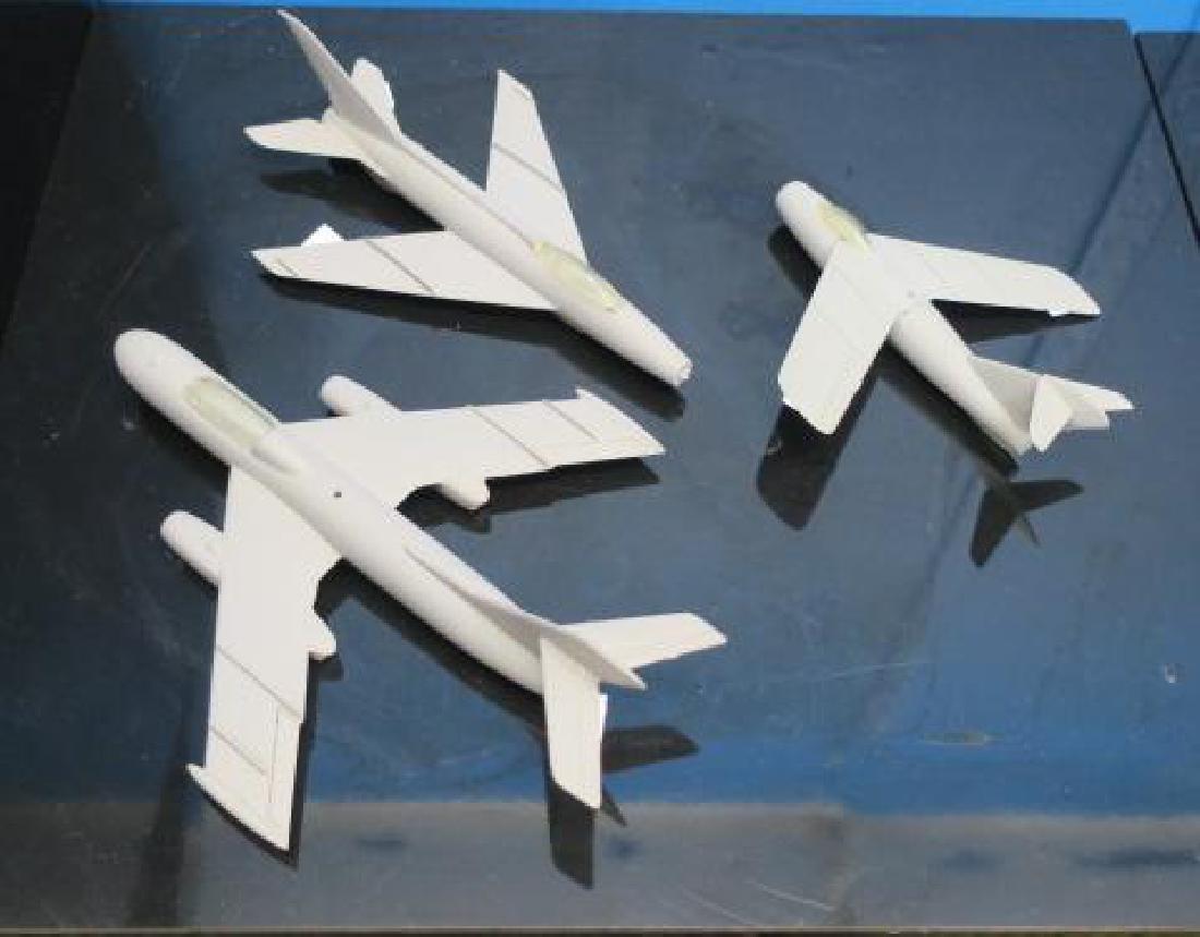 US NAVY RECOGNITION MODELS SU-7, Yak 25 & LA 15: