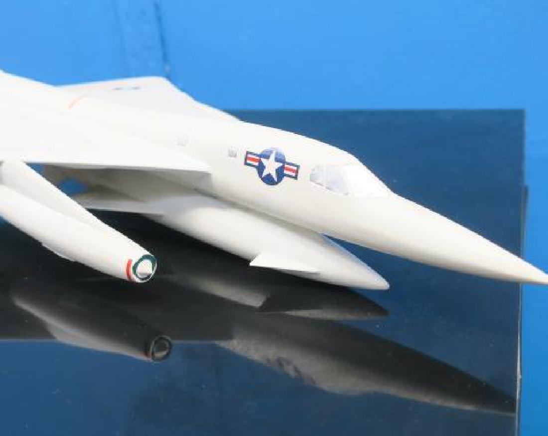 US NAVY RECOGNITION MODEL B-58 HUSTLER, MACH 2 BOMBER: - 3