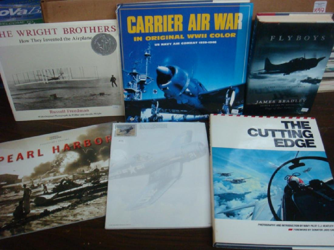 Six Coffee Table Books on Aircraft and Aviation:
