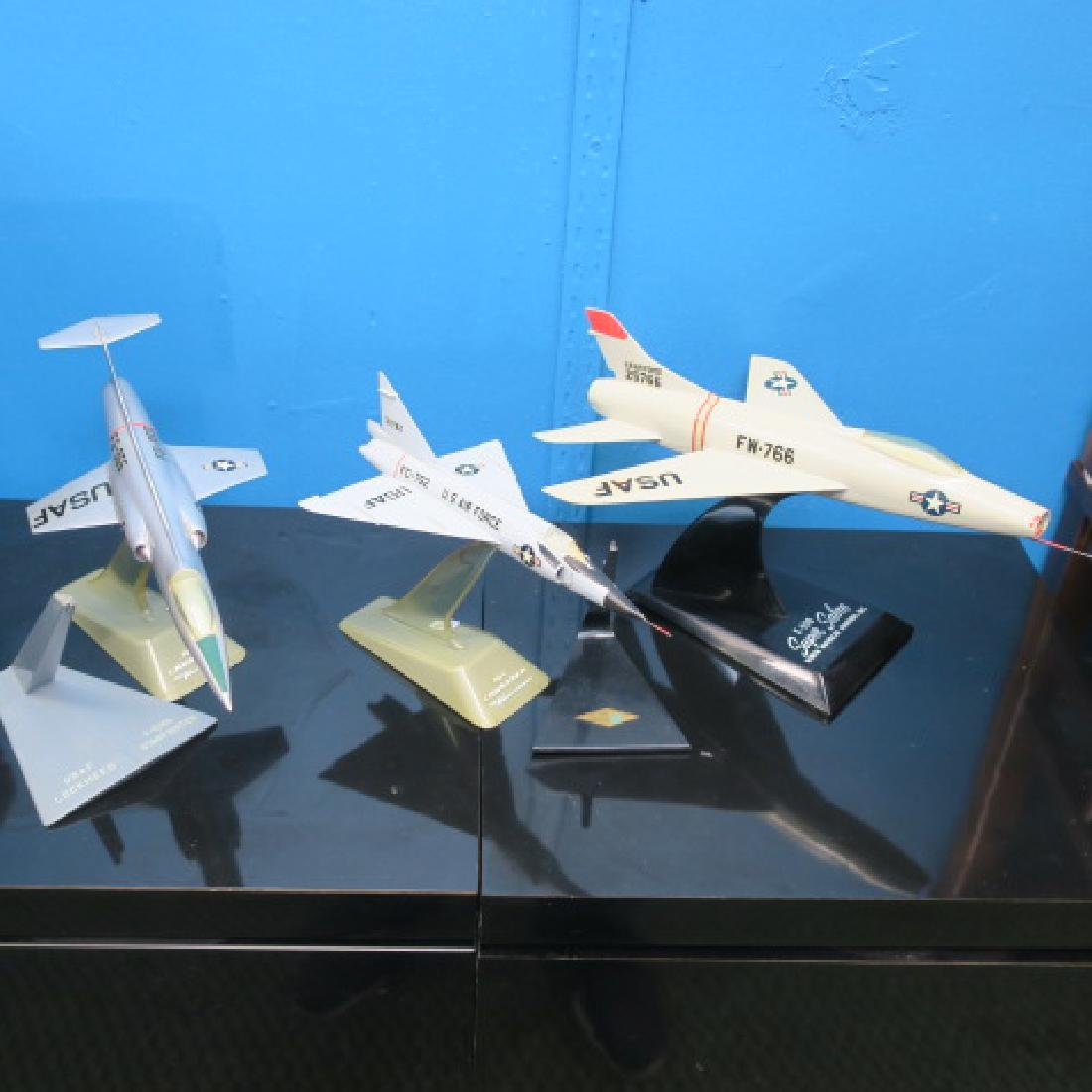 Three Manufacturers Models of F-100 series Fighters: