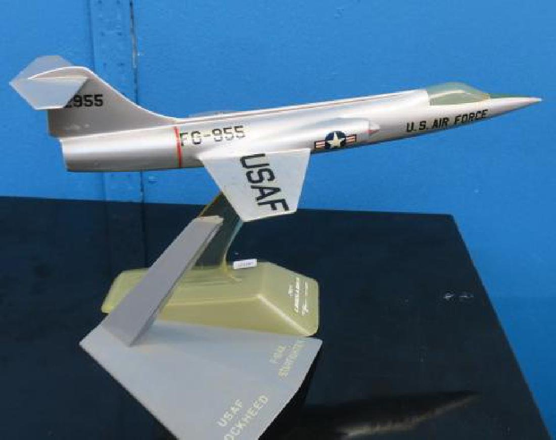 Three Manufacturers Models of F-100 series Fighters: - 2