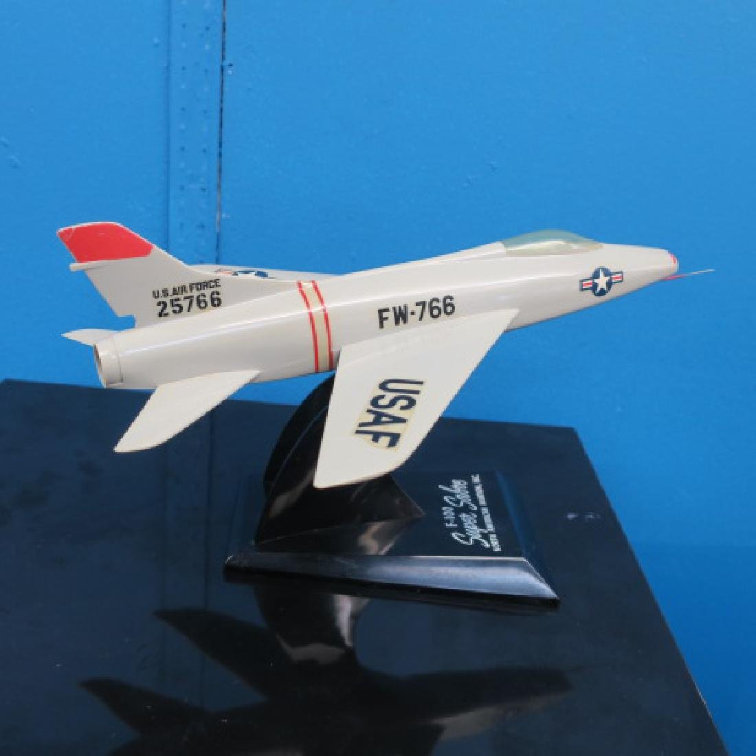 Three Manufacturers Models of F-100 series Fighters: - 3