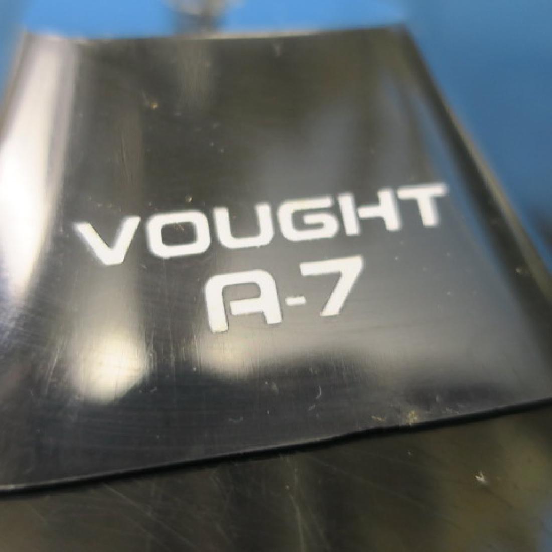 Models of A7 CORSAIR II & F9 COUGAR w/Stands: - 4