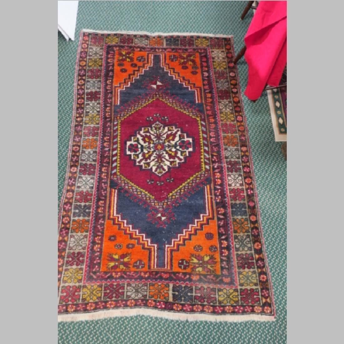 Hand loomed Wool Hamadan Iranian Rug: