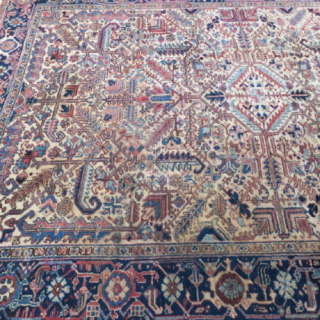 Vintage Wool Persian Rug: