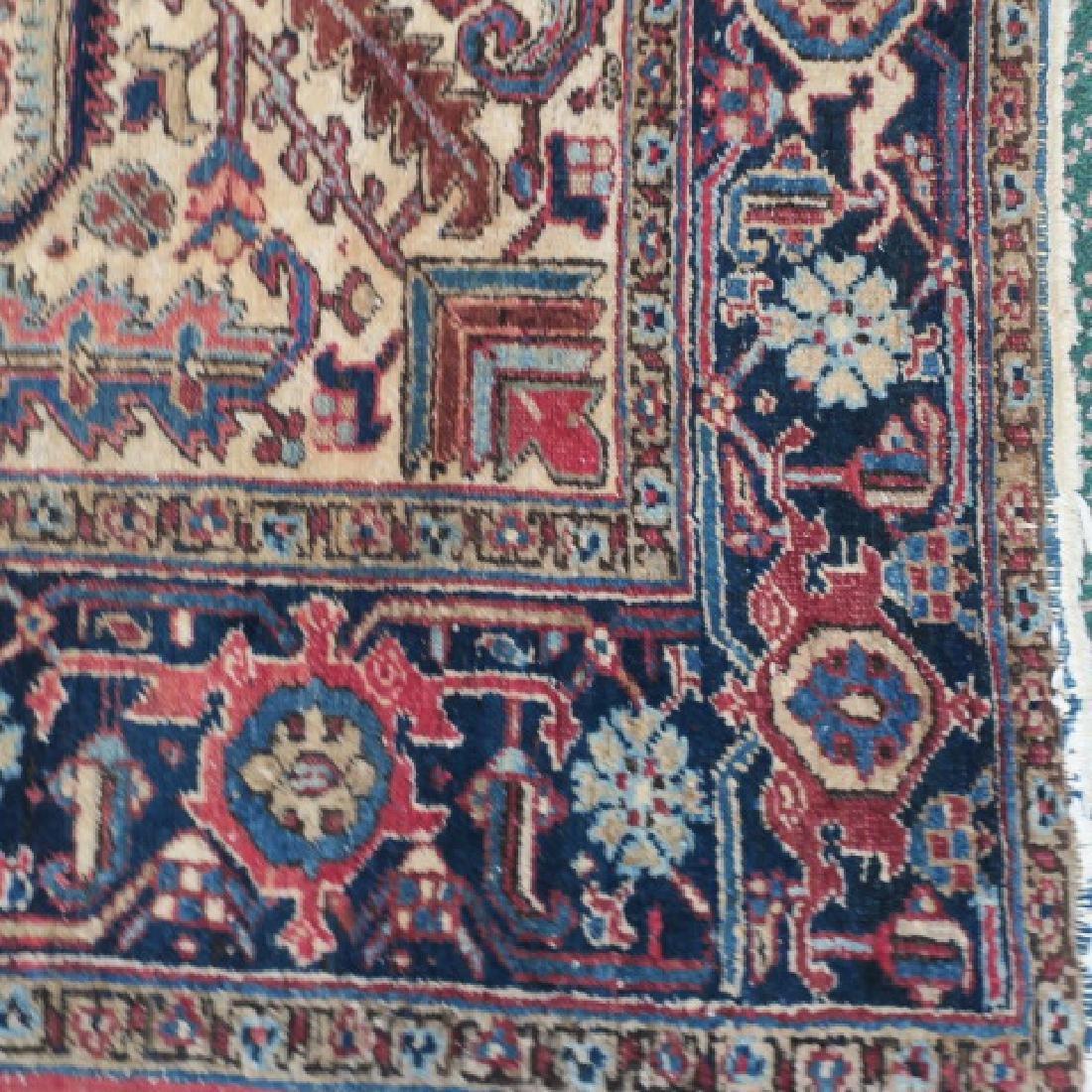 Vintage Wool Persian Rug: - 2