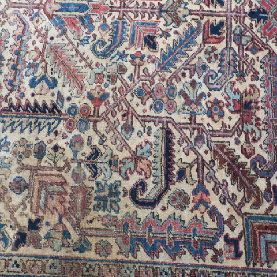 Vintage Wool Persian Rug: - 3