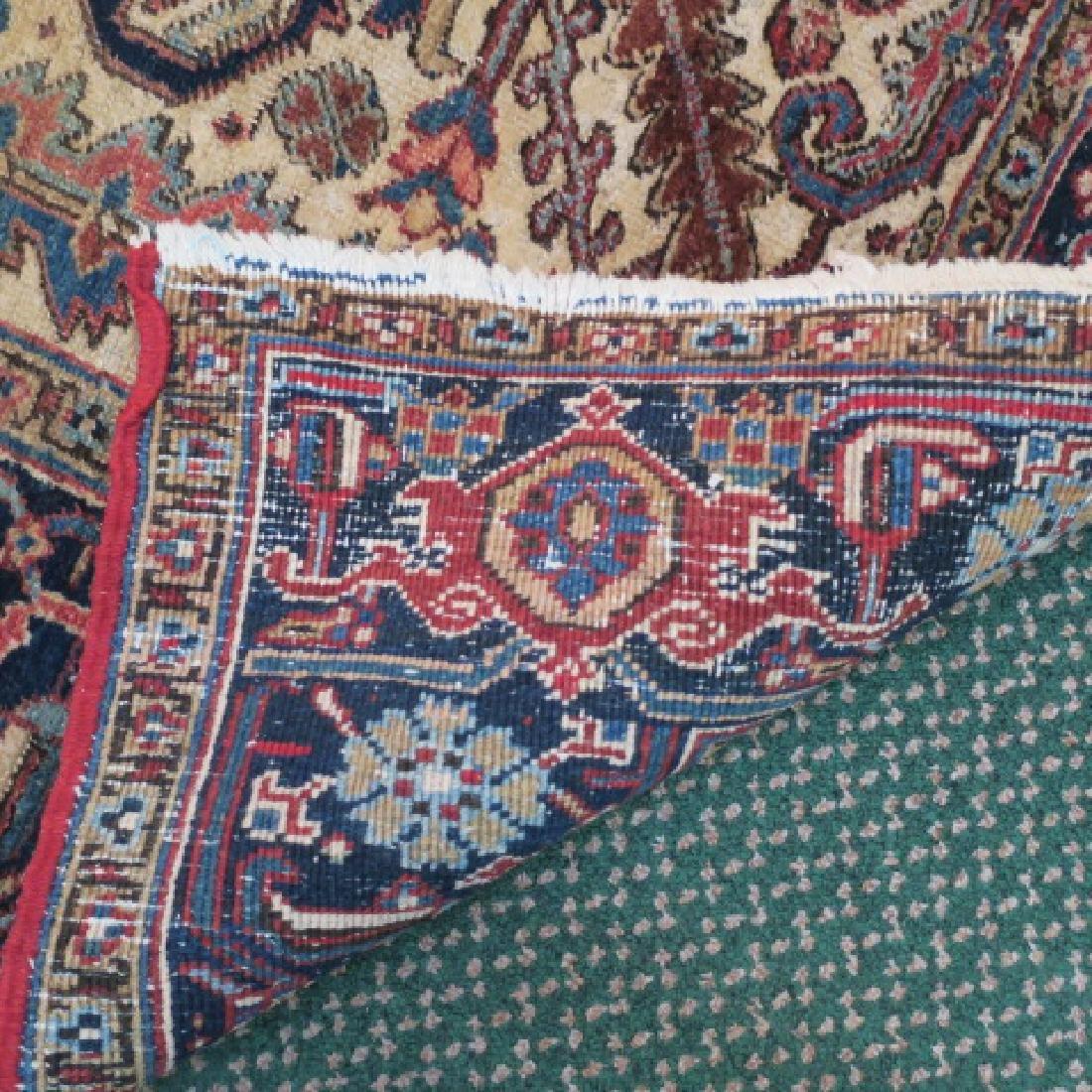 Vintage Wool Persian Rug: - 4