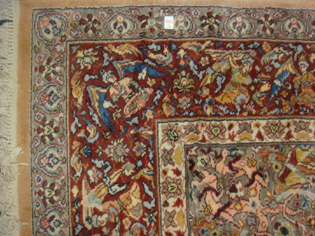 KARASTAN Persian Hunting Rug #723: - 3