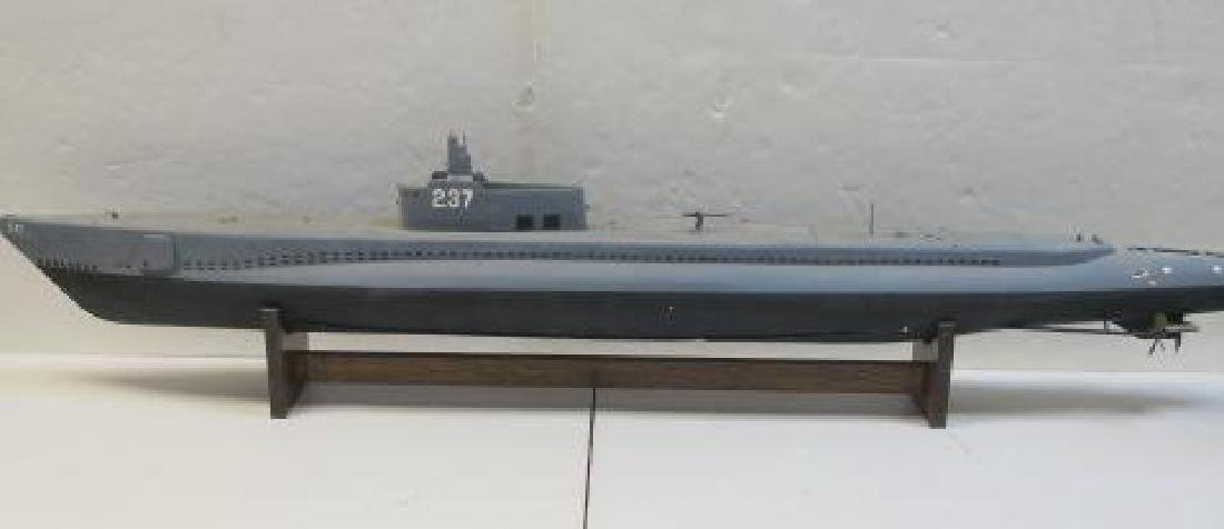 RC Capable Model of USS Trigger SS-237, Submarine: