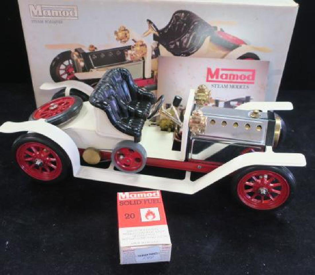 MAMOD STEAM MODEL ROADSTER SR1 CA 1978, New in Box: