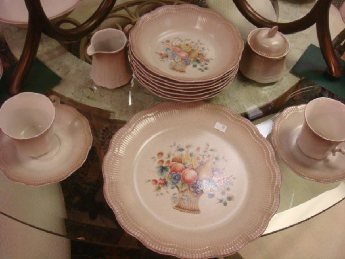 "MIKASA Dinnerware ""GRAND MANNER"" Service for Eight:"