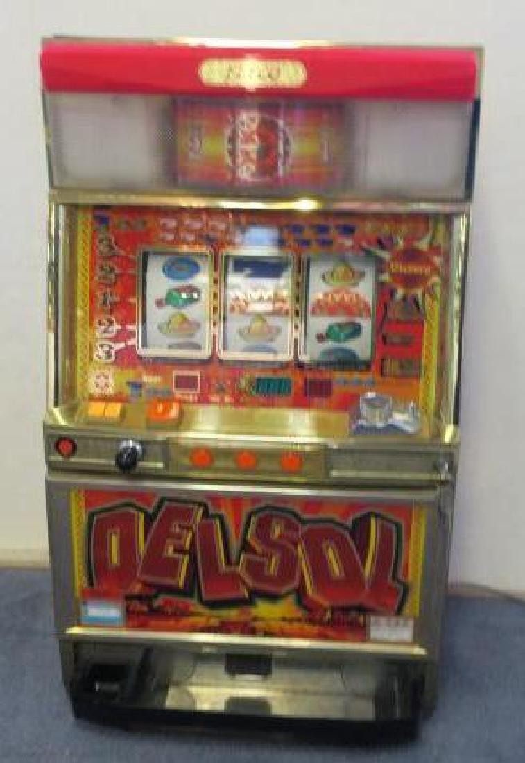 "ELECO \""Delsol\"" Slot Machine:"