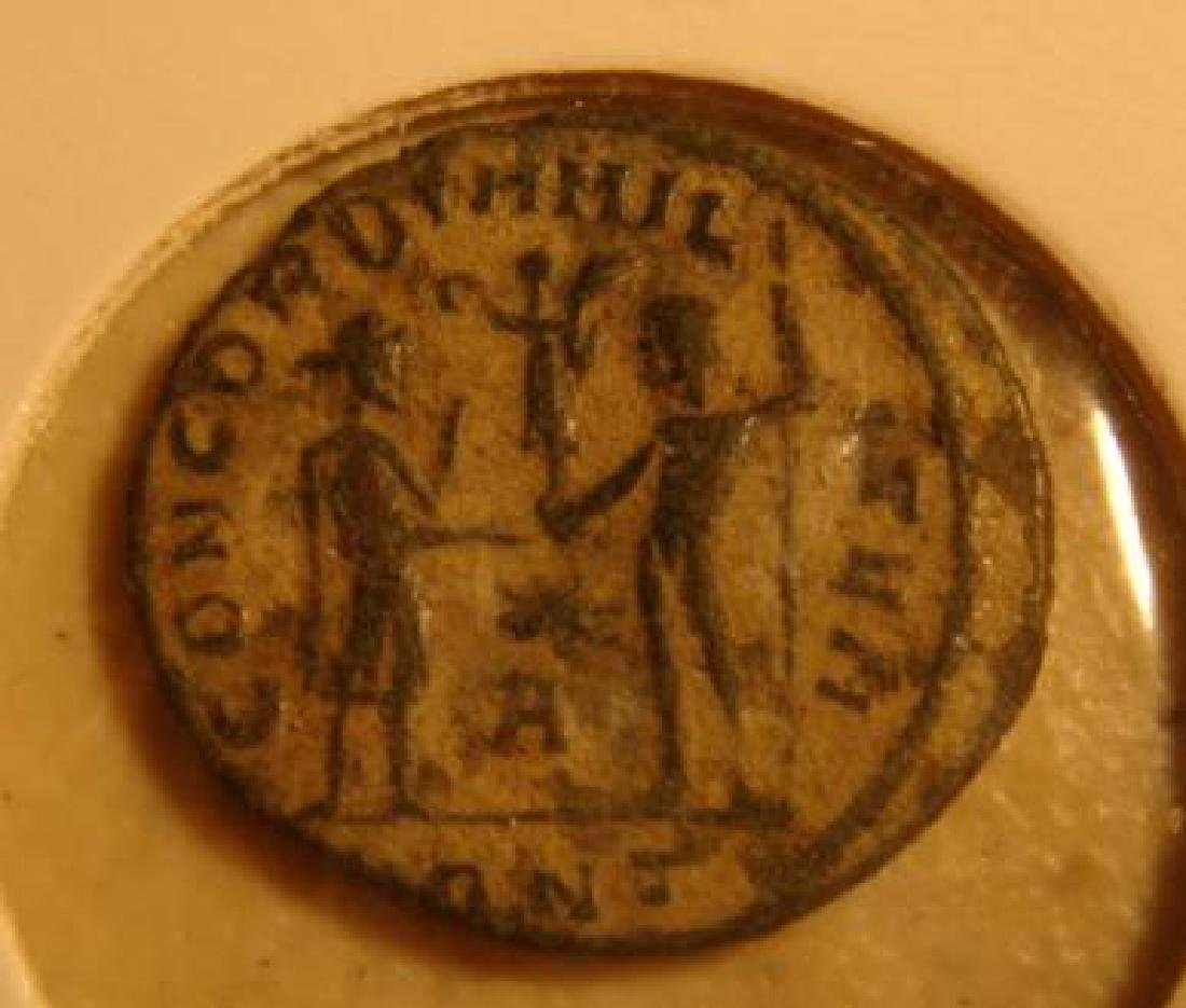 Ancient Roman Bronze Coin: - 2