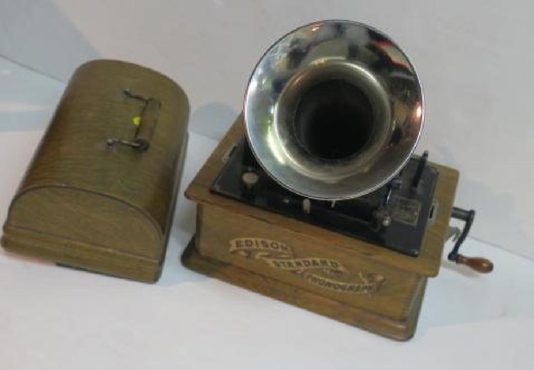 EDISON STANDARD PHONOGRAPH CYLINDER MACHINE CA1910